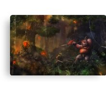Hostile Environment Canvas Print