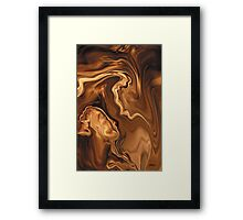 Moment Before The Kiss Framed Print