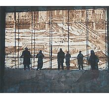 Etching - Viewing reconstruction of Ground Zero Photographic Print