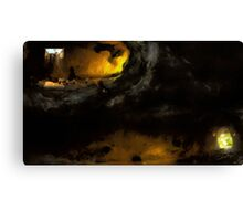 Speleology's friends Canvas Print