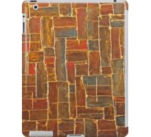 Brown and Gold iPad Case/Skin