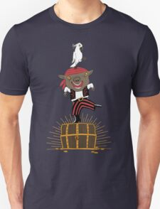 Pirate Happy Dance with Parrot T-Shirt