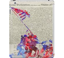 Iwo Jima Delcaration of Freedom iPad Case/Skin