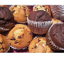Mmm for Muffins Photographic Print