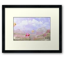 Bird Chase Today Framed Print