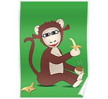 Steph the Banana Monkey (with accessories)  Poster