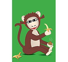 Steph the Banana Monkey (with accessories)  Photographic Print