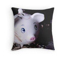 A Little Savings Throw Pillow