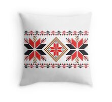 Embroidery Pattern Throw Pillow