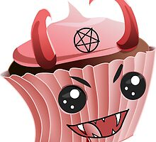 Devil Cupcake by danzr4ever