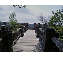 coopers rock bridge Photographic Print