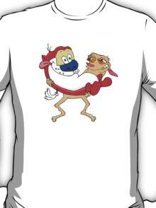 Modern Ren and Stimpy  T-Shirt