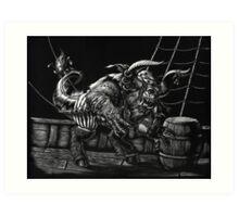 Pirate Beast Art Print