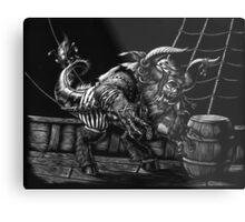 Pirate Beast Metal Print