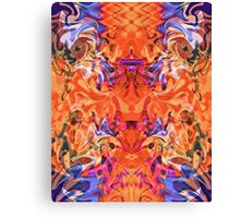 Passion in the Princess' Garden Canvas Print