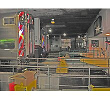 THE END - UNION STATION CHICAGO Photographic Print