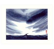 Sea Kayaker Art Print