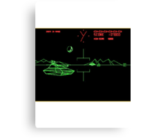 Battlezone 1981 Canvas Print