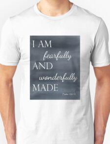 Psalm 139:14 Watercolor Unisex T-Shirt