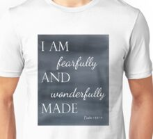 Psalm 139:14 Watercolor Unisex T-Shirt