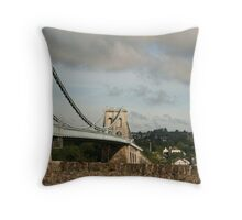The Bridge I can't remember Throw Pillow