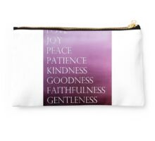 Fruit of the Spirit Watercolor Studio Pouch