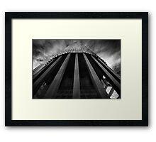 Stilted Framed Print