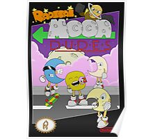 Radical Moon Dudes (Official Box Art) Poster