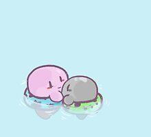 Kirby: Swim by RoboTrigger
