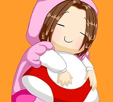 Game Grumps Arin in Peach Kigurumi by claire-fairy