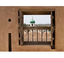 Window at the Fort Photographic Print