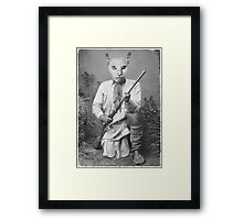 Pearl the Warrior Framed Print