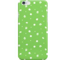 Animal Crossing Coloured Background iPhone Case/Skin