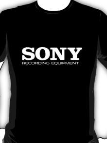 Sony Recording Equipment T-Shirt