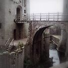A Moat into the Great Tower. by cullodenmist
