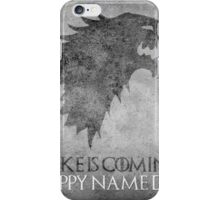 Game of Thrones Birthday: Happy Name Day, Cake is Coming iPhone Case/Skin