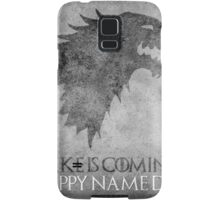 Game of Thrones Birthday: Happy Name Day, Cake is Coming Samsung Galaxy Case/Skin