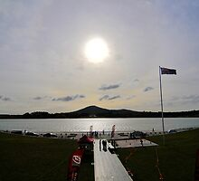 Reconciliation Place, Lake Burley Griffin Canberra Australia by Greg Long
