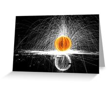 Selective spin  Greeting Card
