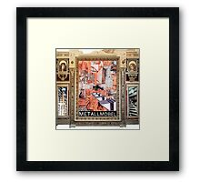 Big Screen. Framed Print