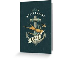 Anchor | Petrol Grey Greeting Card