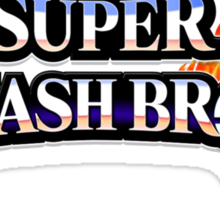 Super Smash Bros Sticker