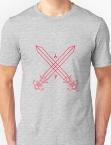 Two Swords (Red) T-Shirt