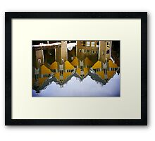 Rotterdam Reflection Framed Print