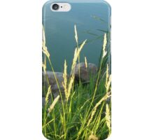 Lakeside Weeds iPhone Case/Skin