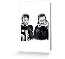 Joseph and Dun Greeting Card