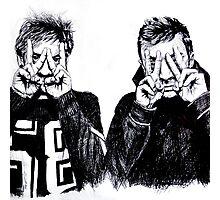 Joseph and Dun Photographic Print