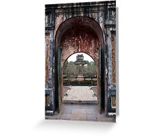 Another doorway to the past Greeting Card