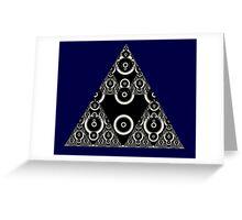 Sierpinski XII Greeting Card
