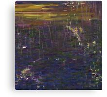 Giverney reflection Canvas Print